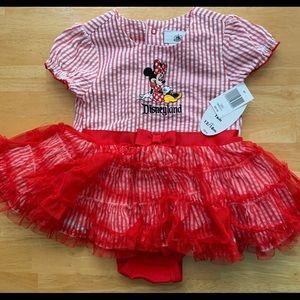 NWT Disney infant girl Minnie Mouse dress